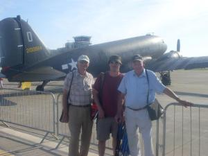 (l-r) great-uncle Terry, Me, Grandad