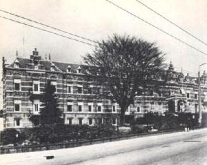 St Elisabeth's Hospital on the outskirts of Arnhem