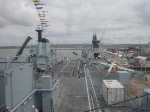 RFA Argus flight deck